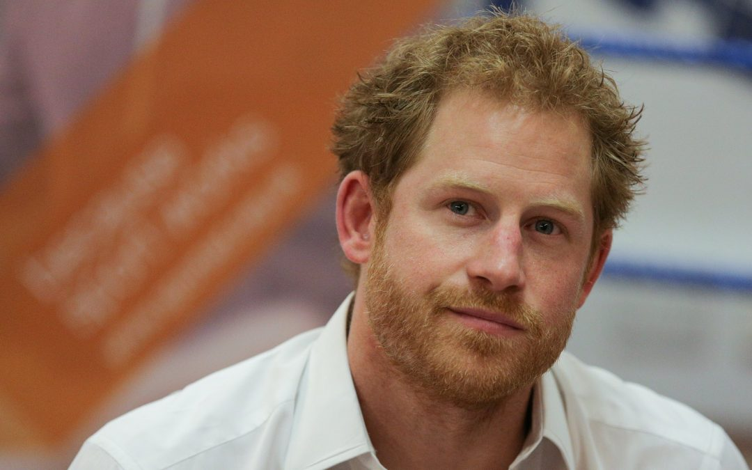 Prince Harry is right – it's VERY good to talk!